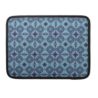 Sapphire Kaleidoscope Pattern Sleeve For MacBook Pro