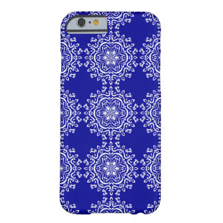 Sapphire Mandala Barely There iPhone 6 Case