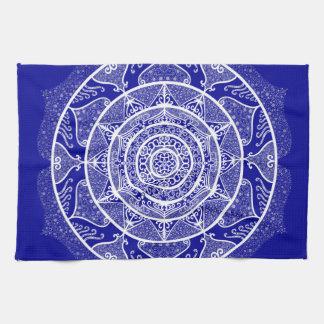 Sapphire Mandala Kitchen Towel