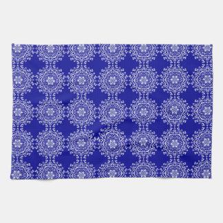 Sapphire Mandala Kitchen Towels