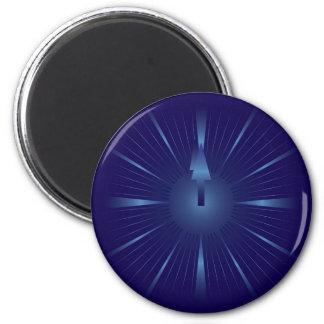 sapphire minute 2 inch round magnet
