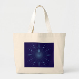 sapphire minute large tote bag