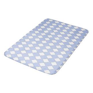Sapphire-Pale-Blue-Diamonds-Bath-Bed-RUGS-S-M-L Bath Mat