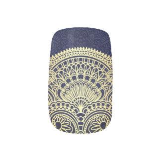 Sapphire Princess Minx Nail Art