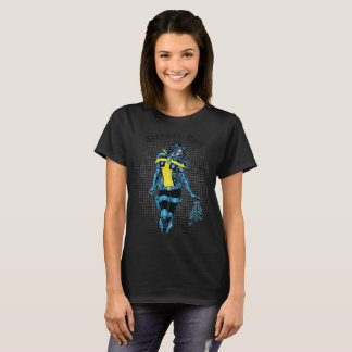 Sapphire Rose Orginal Comic by Wild Black Cherry T-Shirt