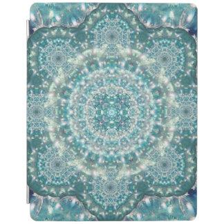 Sapphire Star Mandala iPad Cover