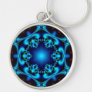 Sapphire Sun Keychain