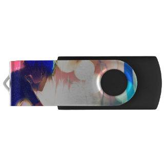 Sapphire Sunset Swivel USB 3.0 Flash Drive