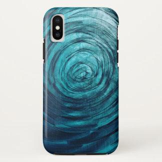 Sapphire Vortex - Apple iPhone X Case