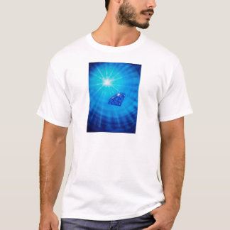 Sapphire with diamond cross section T-Shirt
