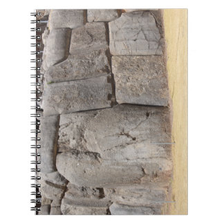 Saqsaywaman in Peru Spiral Note Book