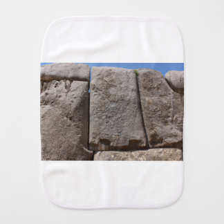 Saqsaywaman Lost Alien Technology Burp Cloth