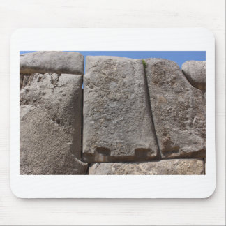 Saqsaywaman Lost Alien Technology Mouse Pad
