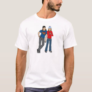 sara and eren best friends T-Shirt