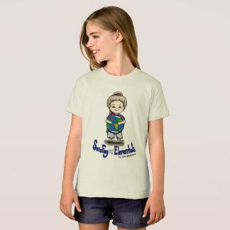 Sara Fay and Globe Organic Cotton Girl's T-Shirt