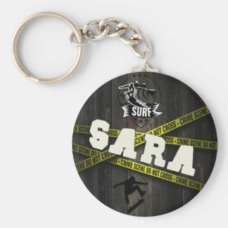 SARA - Skater Style Keychain