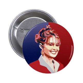 Sarah 2 Inch Round Button