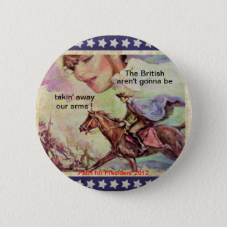 Sarah and Paul 2 Inch Round Button