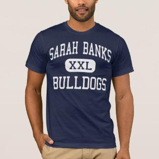 Sarah Banks Bulldogs Middle Wixom Michigan T-Shirt