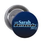 Sarah Barracuda 2012 2 Inch Round Button