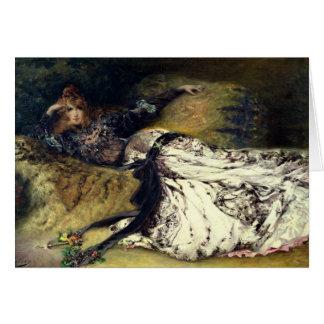 Sarah Bernhardt  1871 Card