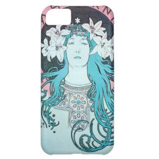 Sarah Bernhardt Mucha Vintage Art Nouveau Retro iPhone 5C Covers