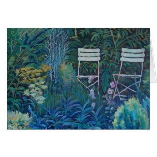Sarah' Garden by Bev James Card