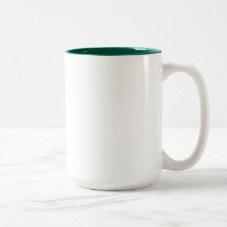 Sarah Green 15 oz Two-Tone Mug
