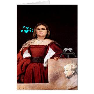 Sarah Huckster Sanders Customizable Birthday Card