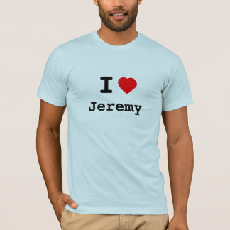 (Sarah) Jeremy: A Tribute in Cloth T-Shirt