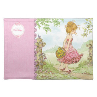 "Sarah Kay Heritage ""Walking"" Cloth Placemat"