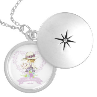 "Sarah Kay With Love ""Camille"" Silver Locket Neckla"