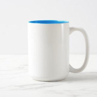 Sarah Light Blue 15 oz Two-Tone Mug