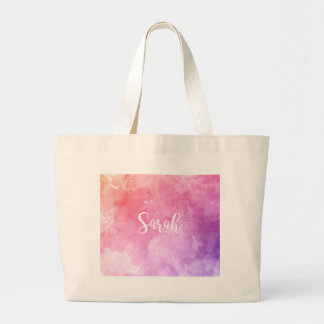 Sarah Name Large Tote Bag