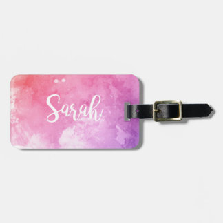 Sarah Name Luggage Tag