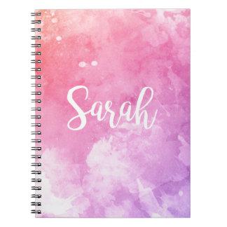 Sarah Name Notebook
