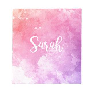 Sarah Name Notepad