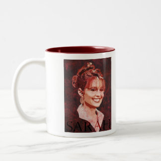 Sarah Palin - 2008 Vice President Two-Tone Coffee Mug