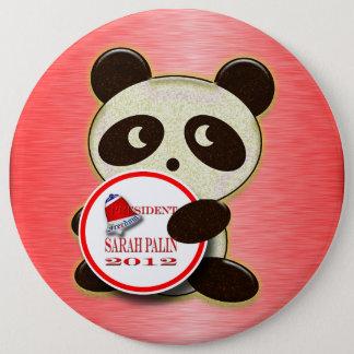 Sarah Palin 2012 6 Inch Round Button