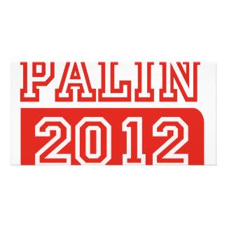 SARAH PALIN 2012 CUSTOMIZED PHOTO CARD