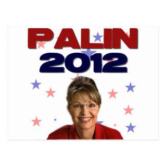 Sarah Palin 2012 Postcard