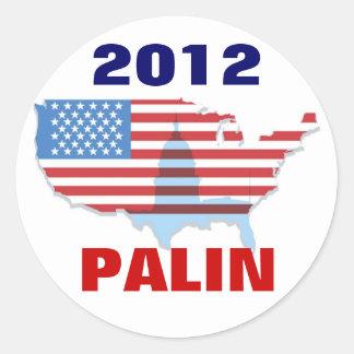 Sarah Palin 2012 Sticker