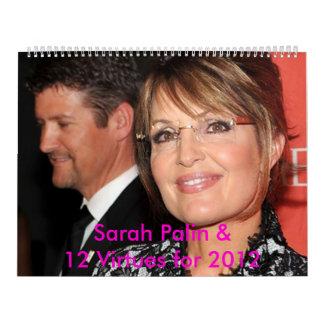 Sarah Palin 2012 Wall Calendar