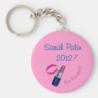 Sarah Palin 2012? You Betcha'!!!! Key Chain