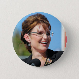 Sarah Palin 2 Inch Round Button