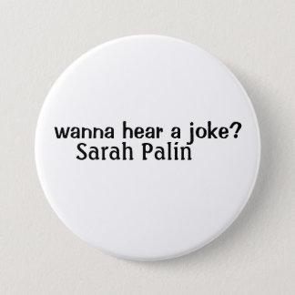 sarah palin 3 inch round button