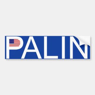 Sarah Palin - adhésif pour pare-chocs de drapeau Autocollant De Voiture