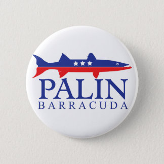 Sarah Palin Barracuda 2 Inch Round Button
