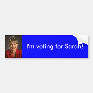 Sarah Palin Bumper Sticker