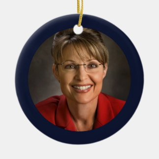 Sarah Palin Christmas Ornament Keepsake